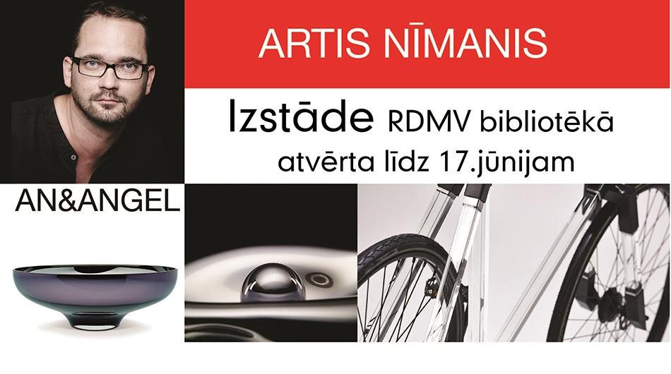 Izstāde un tikšanās ar dizaineri un stikla mākslinieku Arti Nīmani